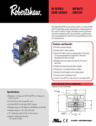 150 2366 robertshaw products 5500 102m robertshaw infinite switch wiring diagram at bayanpartner.co